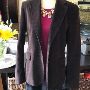 Corduroy blazer made with Stretch fabric